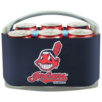MLB Cleveland Indians Cool Six Cooler, Navy