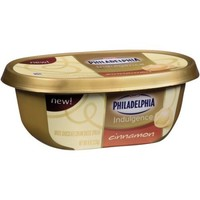 Kraft Philadelphia Indulgence Cinnamon White Chocolate Cream Cheese Spread, 8 oz - Walmart.com