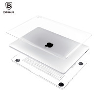 Baseus Laptop Case For Apple Macbook Pro Air 13 12 11 Retina A1465 A1534 A1466 A1245 A1278 Clear Crystal Full Body Cover Case