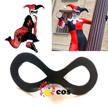 Halloween Eye mask cosplay accessories Batman Harley Quinn Cosplay sexy eye mask eyewear harley quinn accessories