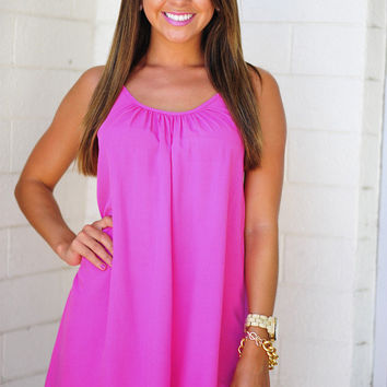 Show Me Your Best Side Dress: Pink | Hope's