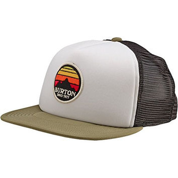 BURTON Men's Sunset Snapback Trucker Hat, One Size, Cigar