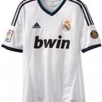 Real Madrid Home Authentic Soccer Jersey