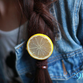 lemon hairpin jewelry for her him beautiful surprise gift 4