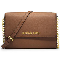 MICHAEL KORS Women Fashion Shopping Leather Shoulder Bag Satchel Crossbody