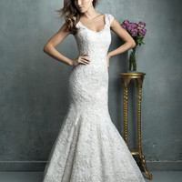 Allure Couture C327 Fit and Flare Wedding Dress