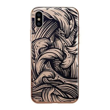New Wave - iPhone Clear Case