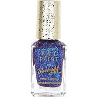 River Island Womens Fashion Icon blue Barry M glitter nail polish