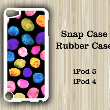 Color Palette iPod Touch 5 and iPod Touch 4 Rubber Case or Plastic Case