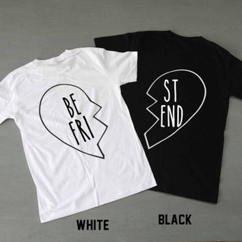 best friend shirts bestfriend couples from deadlypotionno7 on. Black Bedroom Furniture Sets. Home Design Ideas