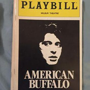 American Buffalo Playbill
