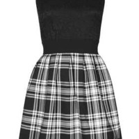 **Lace Checked Dress by Wal G - New In This Week  - New In