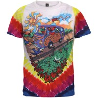 Grateful Dead - Summer Tour Bus Tie Dye T-Shirt