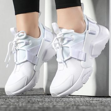 NIKE AIR HUARACHE Women Fashion Running Sports Shoes