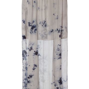 Raquel Allegra long tie dye skirt