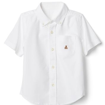 Oxford Short Sleeve Shirt|gap