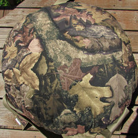 True Timber Harvest Camouflage Double Hanging Cat Bed, Kitty Cloud Cat Bed