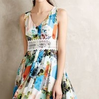 Patchwork Petals Dress