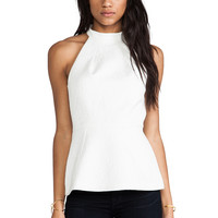 Cameo Slow Shadow Top in Ivory
