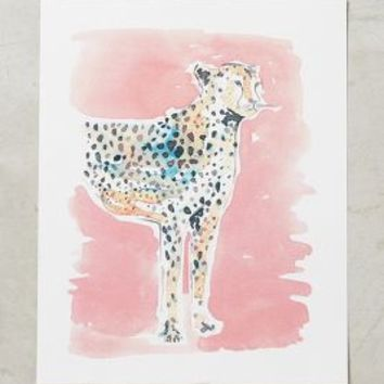 Carly Cogill Chromatic Leopard Print