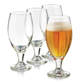 Libbey® Glass 4-Piece Perfect Hard Cider Granny Smith Glass Set