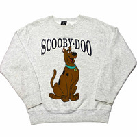 Vintage 90s Scooby Doo Crewneck Sweatshirt Made in USA Mens Size Small