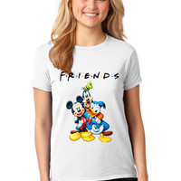 Mickey Mouse Goofy and Donald Duck Friends T-shirt