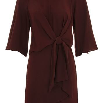 Knot Front Mini Dress - New In Fashion - New In