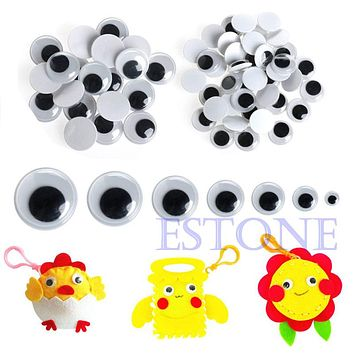 Wiggly Wobbly Googly Eyes Self adhesive Scrapbooking Crafts