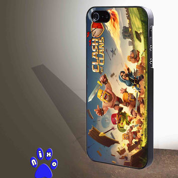 clash of clans game cover for iphone 4/4s/5/5s/5c/6/6+, Samsung S3/S4/S5/S6, iPad 2/3/4/Air/Mini, iPod 4/5, Samsung Note 3/4 Case **