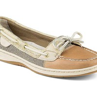 Sperry Top-Sider Womens Angelfish Metallic Python Boat Shoes STS93484