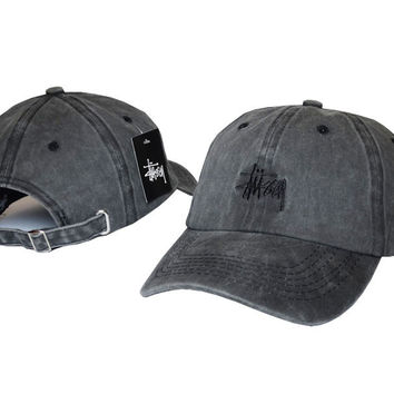 Gray Baseball Cap Hat Adjustable Sports Snapback