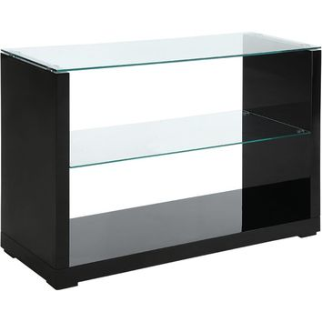 Merrill Glossy-Finish End Table