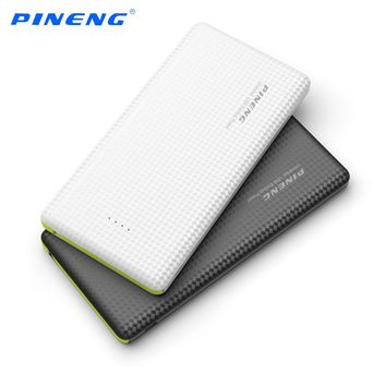 Genuine New PINENG PN-951 10000mAh Portable Battery Mobile Power Bank USB Charger Li-Polymer For iPhone 6S Samsung Xiaomi HTC