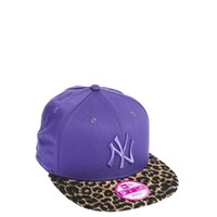 New Era Purple Leopard Los Angeles Dodgers Snapback Cap at asos.com