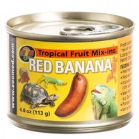 Zoo Med Zoo Med Tropical Fruit Mix-Ins Red Banana Iguana Food