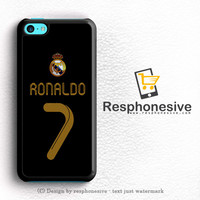 Real Madrid Ronaldo Cr7 Jersey iPhone 5C Case