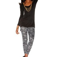 KALEIDOSCOPE PRINT HACCI LEGGINGS