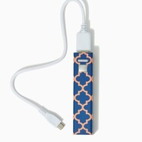 Moroccan Mod Portable Power Bank | Technology - Fashion Accessories | charming charlie