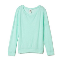 Long Sleeve Raglan - PINK - Victoria's Secret