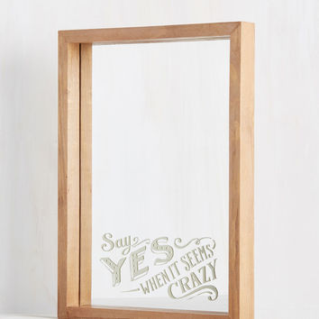 Can-View Attitude Mirror | Mod Retro Vintage Decor Accessories | ModCloth.com