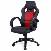 High Back Race Car Style Bucket Seat Office Desk Chair Gaming Chair Red New CB10068RE