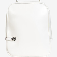 Jetset Retro Airliner Mini Backpack - White