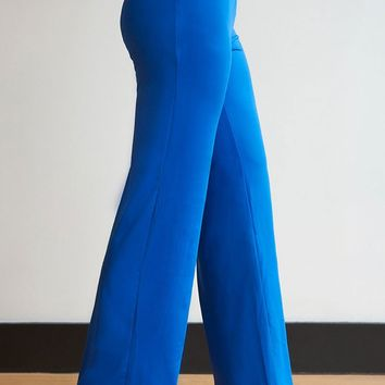 Solid Silky Color Palazzos - Plus Sizes - 7 Colors!
