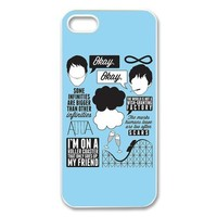 The Fault In Our Stars Okay Quotes Design TPU Case Protection For Iphone 4 4s