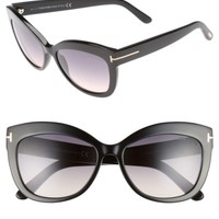 Tom Ford Alistair 56mm Gradient Sunglasses | Nordstrom