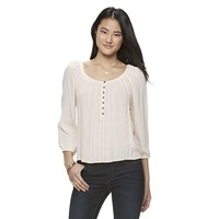 Juniors' Mudd Embroidered Peasant Top