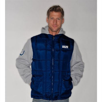 G-III Indianapolis Colts 3-Play Systems Jacket - http://www.shareasale.com/m-pr.cfm?merchantID=7124&userID=1042934&productID=520940992 / Indianapolis Colts