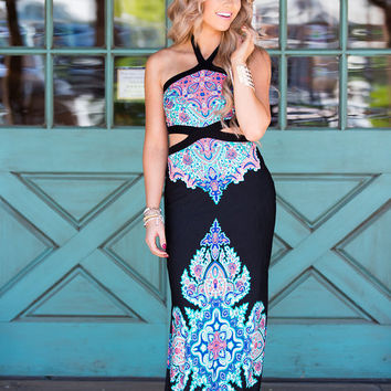 To the Moon and Back Maxi Black