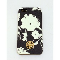 Tory Burch Robinson Print iPhone 5 Case in Tory Navy